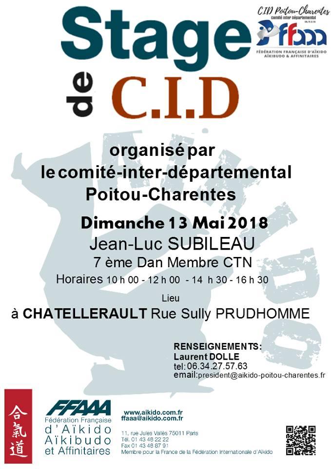 Stage CID Jean-Luc Subileau